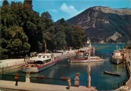 ANNECY Le Port De La Flotte De La Cie Des Bateaux 26(scan Recto-verso) MD2571 - Annecy