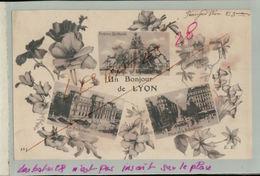 CPA 69 Un Bonjour De Lyon  Carte Fantaisie Multivues -     Oct 2018  127 - Autres