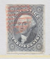 US  17  Fault  Pin Hole  (o) - 1847-99 General Issues