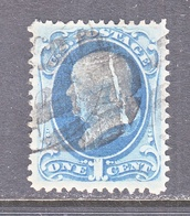 US  182   (o)   1879  Issue - 1847-99 General Issues