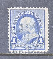 US  219   (o)   1890-93  Issue - 1847-99 General Issues