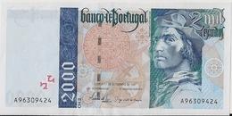 PORTUGAL=1997    2000  ESCUDOS     P-189     UNC - Portugal