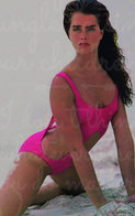 Brooke Shields PHOTO POSTCARD 6 - Mujeres Famosas