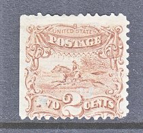 US  113     No Gum  Margin Copy  * - Unused Stamps