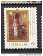 ##1, Canada, - 1952-.... Reign Of Elizabeth II