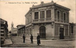 PALAVAS LES FLOTS MAIRIE ET EGLISE ,PERSONNAGES ,JOLI PLAN  REF 57567 - Palavas Les Flots