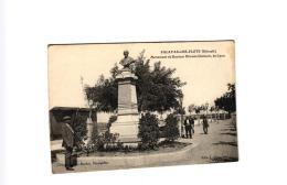 PALAVAS LES FLOTS MONUMENT DU DOCTEUR ETIENNE CLEMENT DE LYON ,PERSONNAGES (VOIR CORRESPONDANCE) REF 57568 - Palavas Les Flots