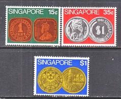 SINGAPORE  150-52     **   COINS - Singapore (1959-...)