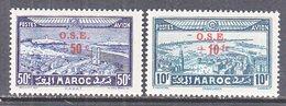 FRENCH  MOROCCO  C B  22-23     ** - Morocco (1891-1956)