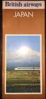 British Airways Brochure Japan 1974 - Europe
