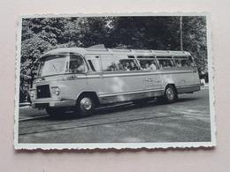 Oude / Old AUTOBUS / TOURINGCAR ( O.a. Reizen Van ROMPAEY )  ( Zie / Voir Photo ) 2 Stuks ! - Automobiles