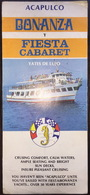 Mexico Acapulco Bonanza Y Fiesta Cabaret Brochure - World