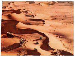 (091) Saudi Arabia (1950/60 Era) - Oil Exploration In Desert  + Special Postmark - Arabia Saudita