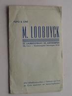 """Mapje / Sachet """" M. LOOBUYCK """" Antwerpen St. Laureisstraat 25 ( Zie / Voir Photo ) ! - Supplies And Equipment"""