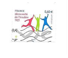 90ème Anniversaire De La Découverte De L'insuline 4630 Oblitéré 2011 - France