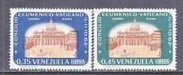 Venezuela  834-5     *  CHURCH - Venezuela