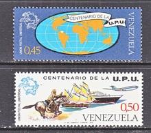 Venezuela  1087-8   **   U.P.U. - Venezuela