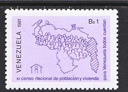 Venezuela  1248    **   CENSUS - Venezuela