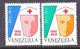 Venezuela  B 2-3    **   NURSE  RED  CROSS - Venezuela