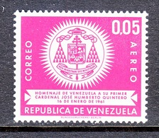 Venezuela  C 785    **   ARMS  OF  CARDINAL  QUINTERO - Venezuela