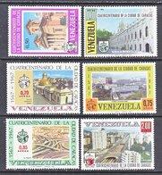 Venezuela  C 977-82    **   VIEWS  OF  CARACAS - Venezuela