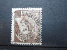 """VEND BEAU TIMBRE DE FRANCE N° 404 , CACHET """" BAS-MONTREUIL """" !!! - 1938-42 Mercurio"""
