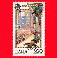 Nuovo - MNH - ITALIA - 1981 - Europa - 26ª Emissione - Palio Di Siena  - 300 L. - 6. 1946-.. Repubblica