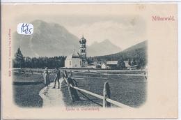 MITTENWALD- KIRCHE IM OBERLEUTASCH - Mittenwald