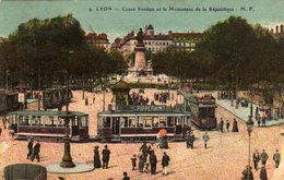 Lyon Cours Verdun Monument De La Republique - Lyon