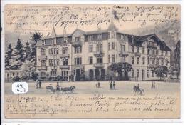 BAS HERRENALB- HOTEL BELLEVUE - Bad Herrenalb