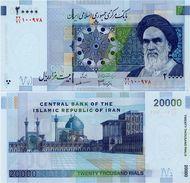 IRAN       20,000 Rials       P-148c       ND (2008)      UNC  [ Sign. 34 ] - [ 20000 ] - Iran
