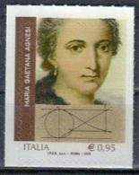 Italien 'Maria Caetana Agnesi, Mathematikerin' / Italy 'Maria Caetana Agnesi, Mathematician' **/MNH 2018 - Sciences