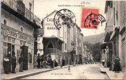 34 SAINT PONS - Grande Rue. - Saint-Pons-de-Mauchiens