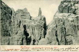 BELLUNO Gusela (Gusella) Del Vescovà  Dolomiti  Da Agordo Per Piacenza D'Adige PD 1905 - Belluno