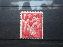 """VEND BEAU TIMBRE DE FRANCE N° 433 , CACHET """" NEVERS """" !!! - 1939-44 Iris"""