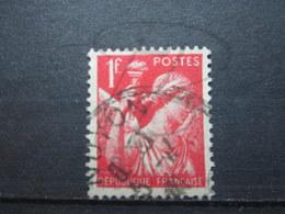 """VEND BEAU TIMBRE DE FRANCE N° 433 , CACHET """" NOYON """" !!! - 1939-44 Iris"""