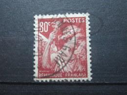 """VEND BEAU TIMBRE DE FRANCE N° 431 , CACHET """" RENNES - GARE """" !!! - 1939-44 Iris"""