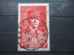 """VEND BEAU TIMBRE DE FRANCE N° 472 , CACHET """" NANCY A PARIS """" !!! - 1941-42 Pétain"""