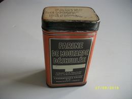 Boîte En Fer Farine De Moutarde Déshuilée - Scatole/Bauli