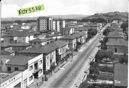 Toscana-arezzo-montevarchi Viale Diaz Veduta Panoramica Viale Anni 50/60 - Italia