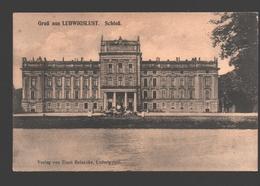 Ludwigslust - Gruss Aus Ludwigslust - Schloss - Verlag Ernst Reinecke, Ludwigslust - White Back / Blanco Rug - Ludwigslust