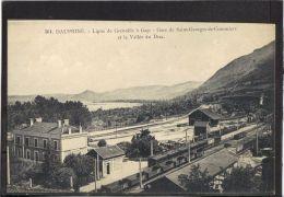 38276 .GARE DE SAINT GEORGES DE DE COMMIERS . LIGNE DE GRENOBLE A GAP . (recto/verso) - Other Municipalities