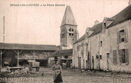 6410  -2018      EPIAIS LES LOUVRES  LA FERME BOUCHET - Autres Communes