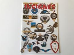 Catalogue INSIGNES N°7 & Supplement - 1977 - Catalogs