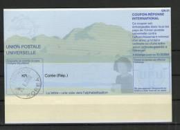 2394 IRC IAS CRI - International Reply Coupon - Antwortschein T31 Gestempelt Coree Korea KR20011121AB - Korea (...-1945)