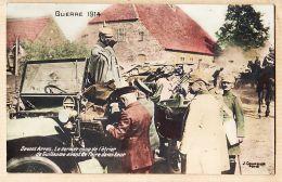 X62010 ARRAS Tresors Et Postes 28.01.1915 Guerre 1914 Coup étrier Kaizer GUILLAUME à MERQUIOL Auzon Loire Cpaww1 - Arras
