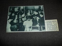 """Origineel Knipsel ( 1732 ) Uit Tijdschrift """" De Stad """" :   Sint Amandsberg ( Gent )   1934 - Vieux Papiers"""