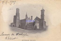 CPA D' AMERIQUE -  SMITHSONIAN INSTITUTE - 1907 - Etats-Unis