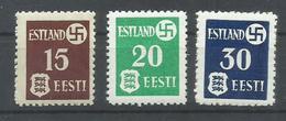 ESTONIA YVERT OCUPACION ALEMANA 1/3    MNH  ** - Estonia