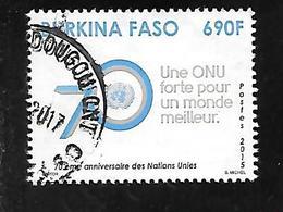 TIMBRE OBLITERE DU BURKINA DE 2015 N° MICHEL 1987 - Burkina Faso (1984-...)